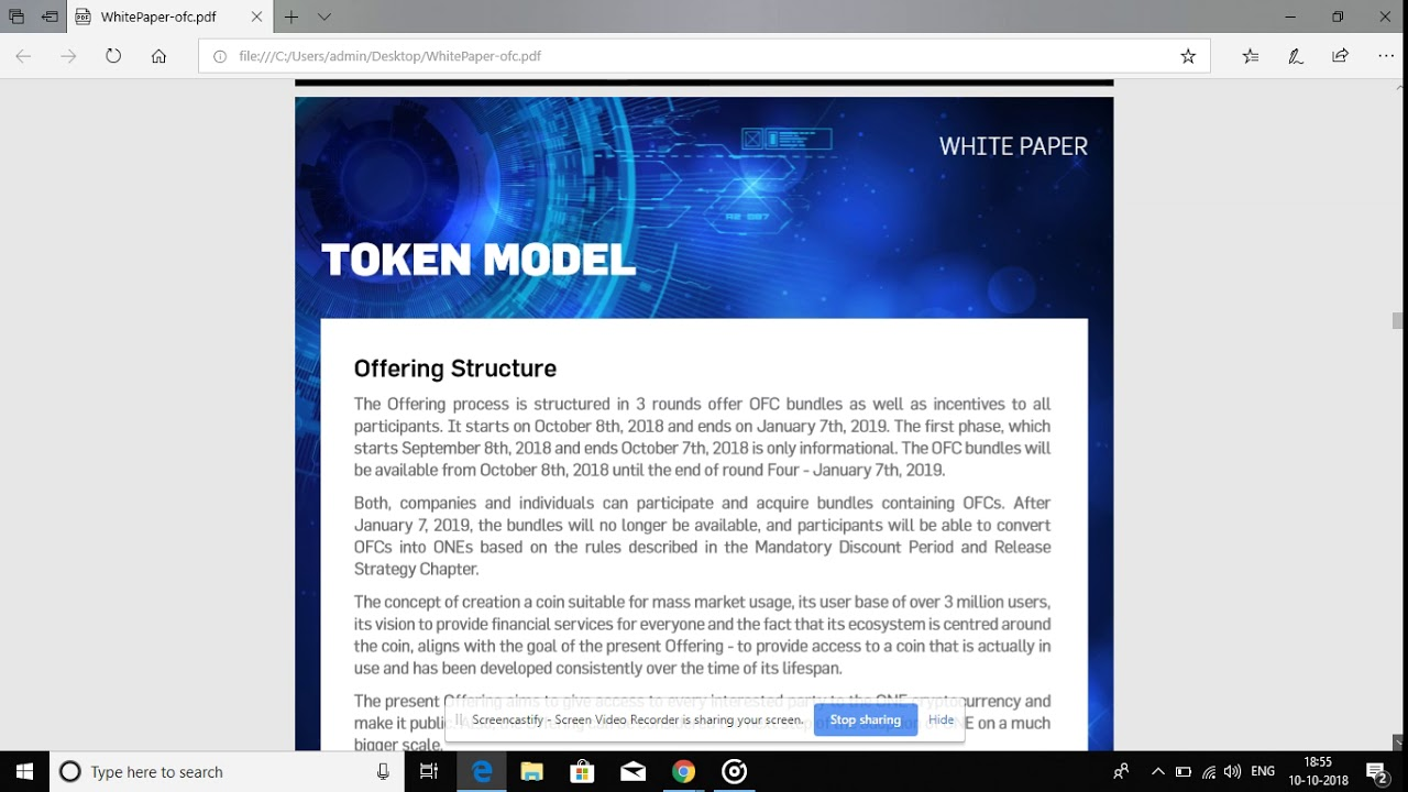 Onecoin : BIG ! BIG ! BIG ! NEWS WHITE PAPER OF ONECOIN !!!!!!!!