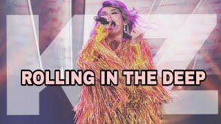 KZ TANDINGAN - Rolling In The Deep (BOYZ II MEN WITH DIVAS CONCERT)