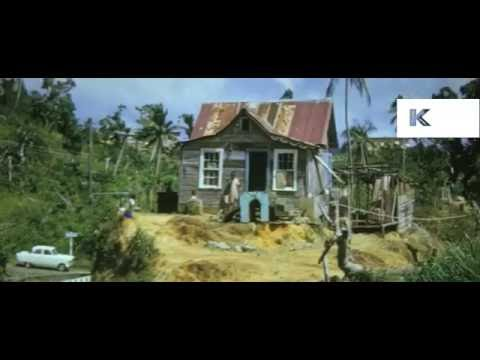 1960s Tobago Caribbean Island Life, 16mm Colour Home Movies