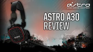 Astro Gaming A30 Headset Black [Review & Mic Test]