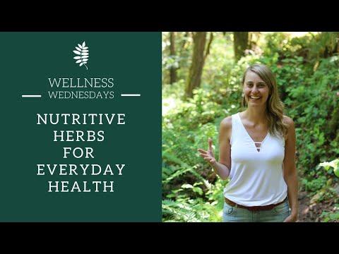 Nutritive Herbs for Everyday Health