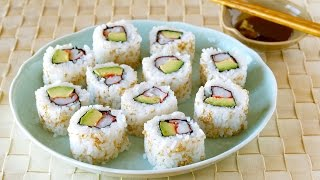 California Roll (sushi Rolls) カリフォルニアロールの作り方 - Ochikeron - Create Eat Happy
