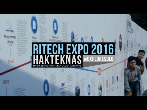 RITECH EXPO 2016 - HAKTEKNAS KE 21 #EXPLORESOLO