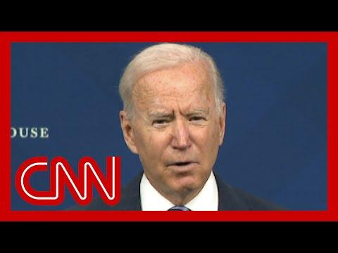 Biden addresses nation after devastating flooding