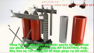 Máy biến áp khô, Cấu tạo và hoạt động máy biến áp khô