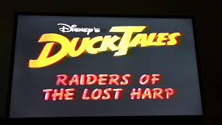 Opening & Closing to DuckTales: Raiders of the Lost Harp 1990 VHS