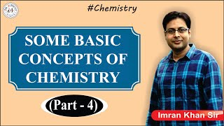 Some Basic Concepts of Chemistry (L-4)