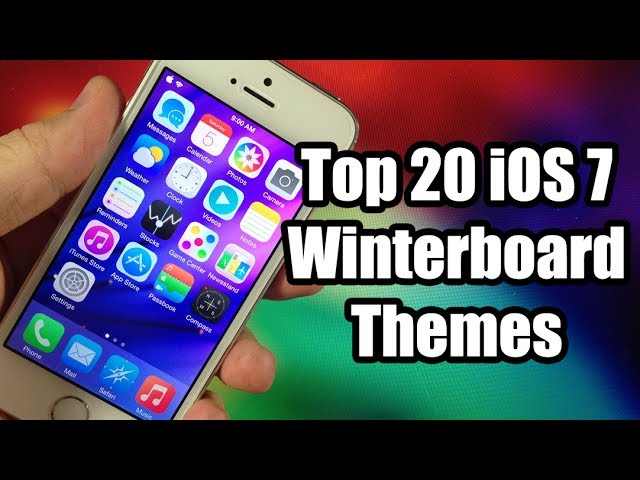 Top 20 Best Ios 7 Winterboard Themes Youtube