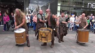 """Clanadonia performing """"Last of the Mohicans"""""""