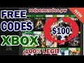 free xbox live codes - xbox live gold - free xbox one games