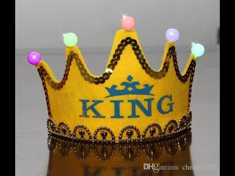 How to make a Crown using paper