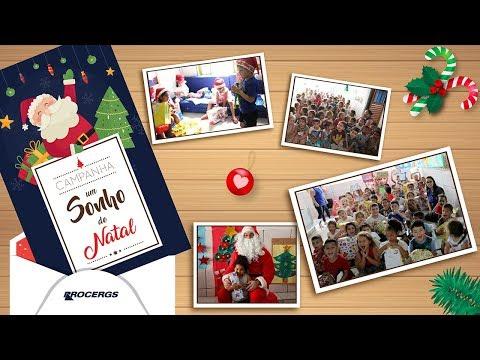 """Todos os anos, a PROCERGS realiza a campanha """"Um Sonho de Natal"""", uma ação que entrega a crianças em vulnerabilidade social os sonhados """"presentes ..."""
