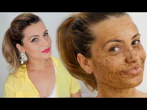 O Melhor Peeling Facial Caseiro Com Cafe Clareia E Afirma A Pele