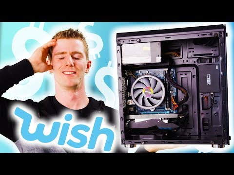 Building a PC... using only Wish.com