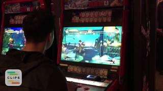 Ultra Street Fighter IV - Playing in Shinjuku, Tokyo