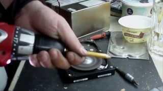 HDD grinder