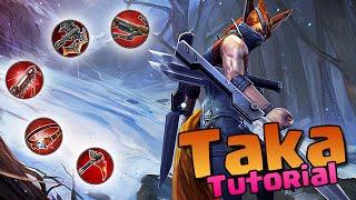 Taka Tutorial für Neueinsteiger ✖ Let's Play Taka ✖ Vainglory deutsch german