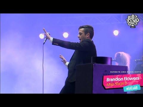 Brandon Flowers @ Lollapalooza AR 2016