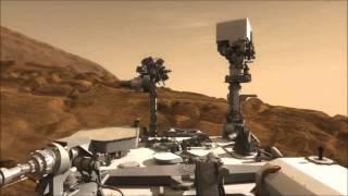 好奇號在火星的一天