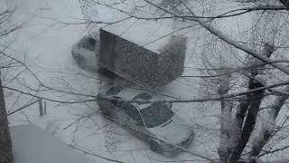 МНОГО СНЕГА НАВАЛИЛО ... СНЕГОПАД В УКРАИНЕ 2019 . Blizzard in Ukraine. НЕПОГОДА ...