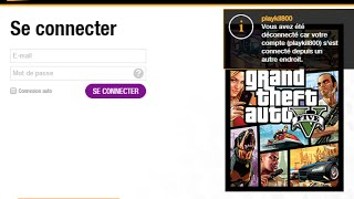 [#Tuto] Resoudre le Problème de connexion a GTA Online