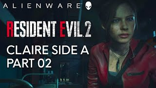 Resident Evil 2 Part Two - Gameplay on Alienware Aurora Gaming PC (1080 Ti)