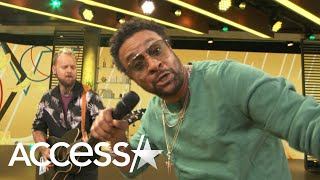 Watch Shaggy Give An Epic Performance Of New Bop 'Banana' With Fellow Reggae Singer Conkarah
