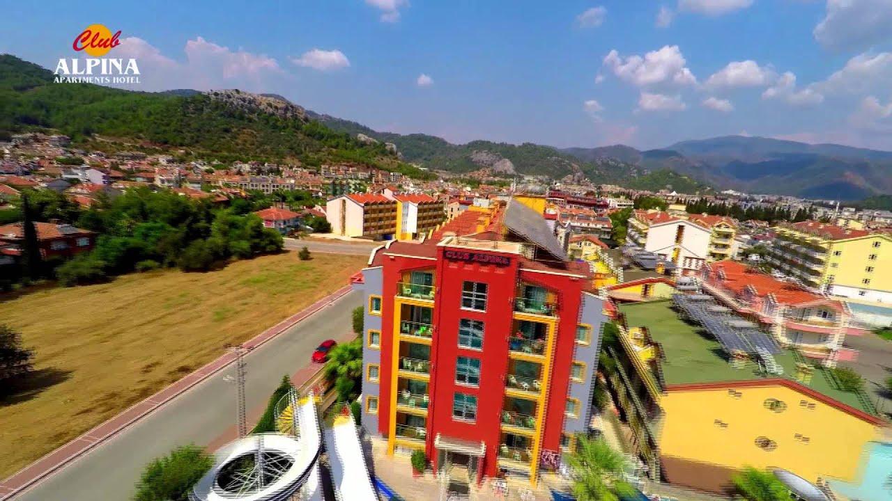 Club Alpina Apartments Hotel In Marmaris