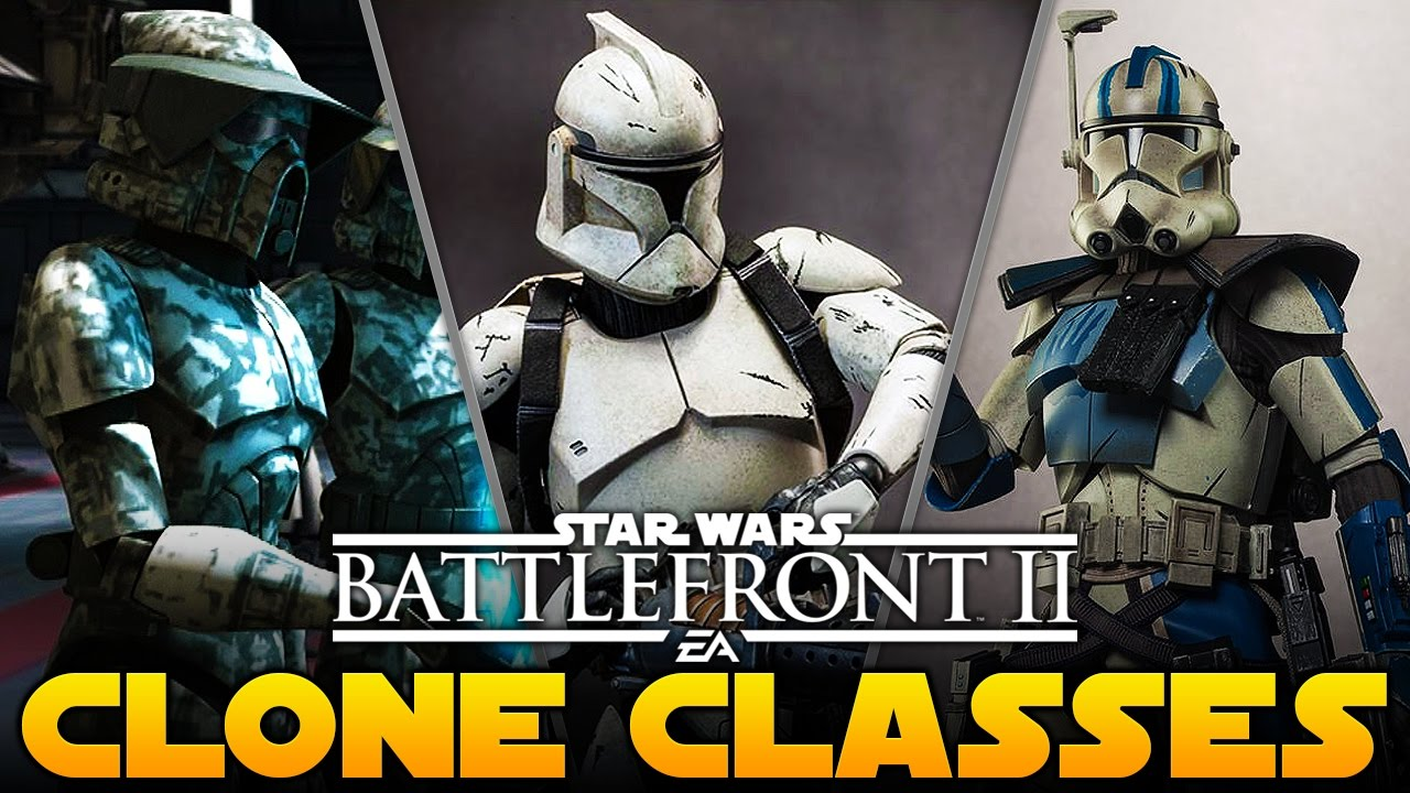 Star Wars Battlefront 2 Clone Trooper Classes Skins Speculation