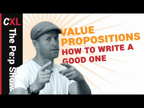 Value proposition: how to craft a good one