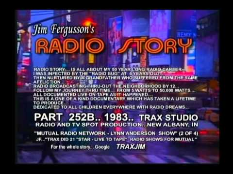 JIM FERGUSSON - LYNN ANDERSON!!! - 1983 RADIO STORY - COMPLETE  - FERGUSSON/TRAX - RS 252XL