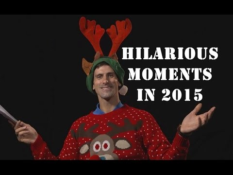 Novak Djokovic Hilarious Moments in 2015 (HD)