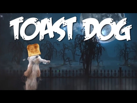 toast dog (ghost dog parody)