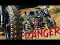 SPIKED STREET BIKE ON DIRT | RokON vlog #71