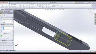 Drawing Colt 1911 with Solidworks - Tutorial Part 24 Slide-2