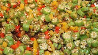 How To Stir Fry Okra (molondron O Quimbombo) Superfood