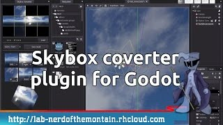 godot tutorial using plugin skybox converter