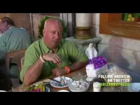 BIZARRE FOODS IN SYRIA with Andrew Zimmern (Part 3/3)