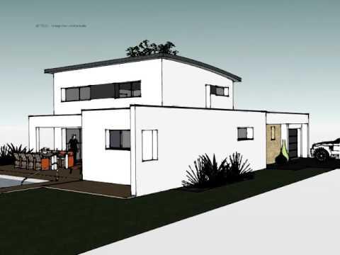 Arteco 358 Plans et construction 3D de maisons en Bretagne - YouTube