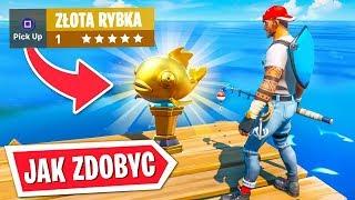 JAK ZDOBYĆ - ZŁOTA RYBKA W FORTNITE SEZON 1 ...