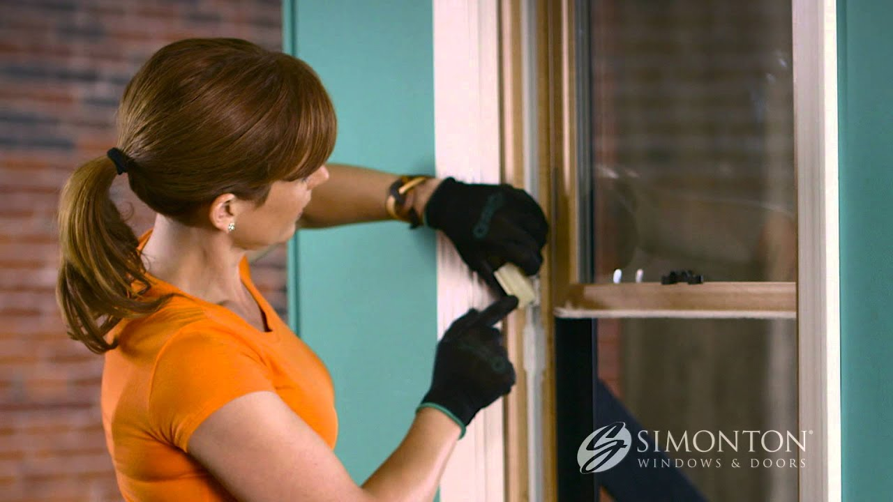 How To Replace The Balance On A Double Hung Window Youtube