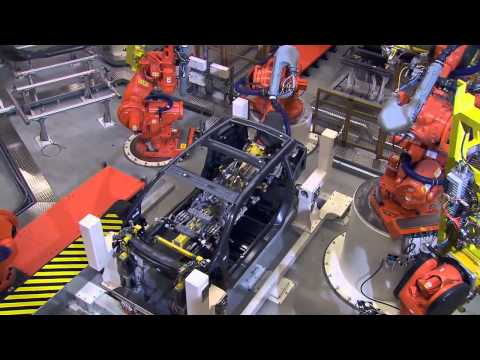 BMW i3 Factory Production