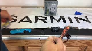 Placing a fabric / snap collar strap on a Garmin PT-10 / PT-6 / PT-5 E-Collar