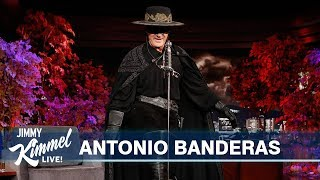 Antonio Banderas on His Heart Attack, Buying Salma Hayek Monkeys & Zorro