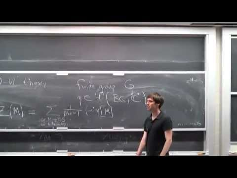 Jacob Lurie: Finiteness and Ambidexterity in K(n)-local stable homotopy theory (Part 1)
