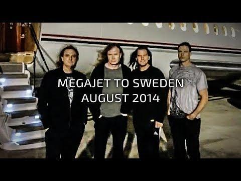 Megadeth - Megajet Spain to Sweden - Aug 1, 2014 Thumbnail image