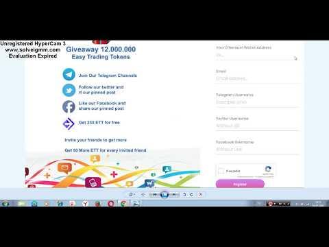 Easy Trading Platform - Airdrop! Получаем 250 токенов за регистрацию и участие в проекте!