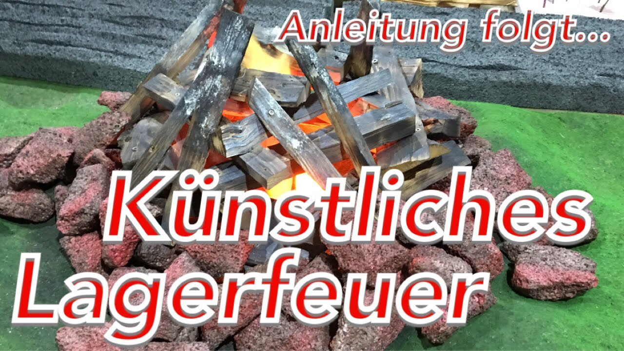 kunst lagerfeuer machen feuer selber bauen anleitung folgt fake fire youtube. Black Bedroom Furniture Sets. Home Design Ideas