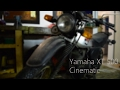 Yamaha XT500 Cinematic