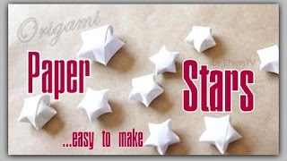 How to make FANTASTIC paper stars - Pretty Simple *Origami*